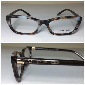 Tiffany & Co Havana CatEye Eyeglasses Frames NWOT